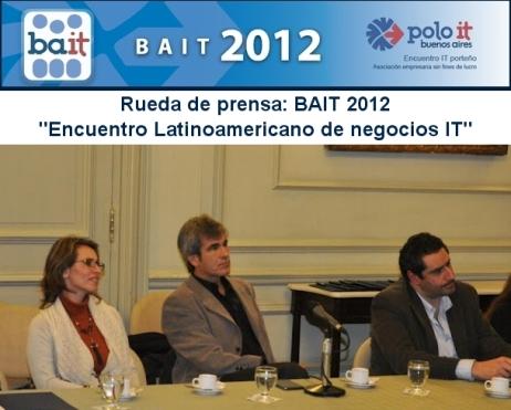 Rueda de Prensa Lanzamiento BAIT 2012