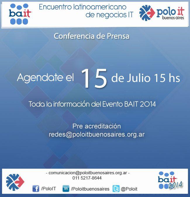 Con amplia convocatoria se realizó la Rueda de Prensa de BAIT 2014