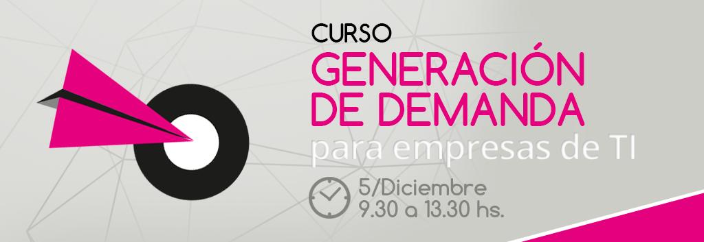 Curso Generacijón de demanda para empresas de TI