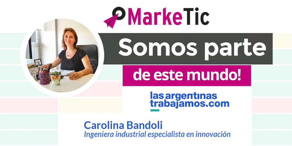 Marketic en LasArgentinasTrabajamos.com