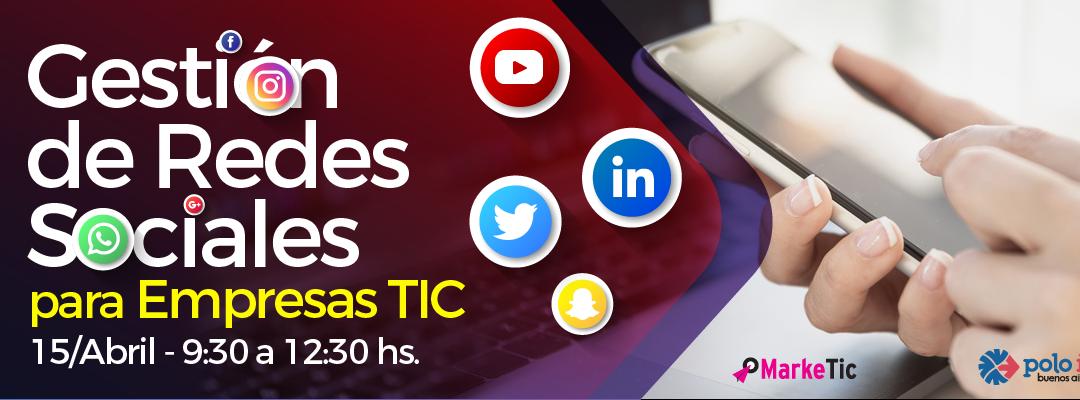 Nueva Capacitación: Gestión de Redes Sociales para TICs