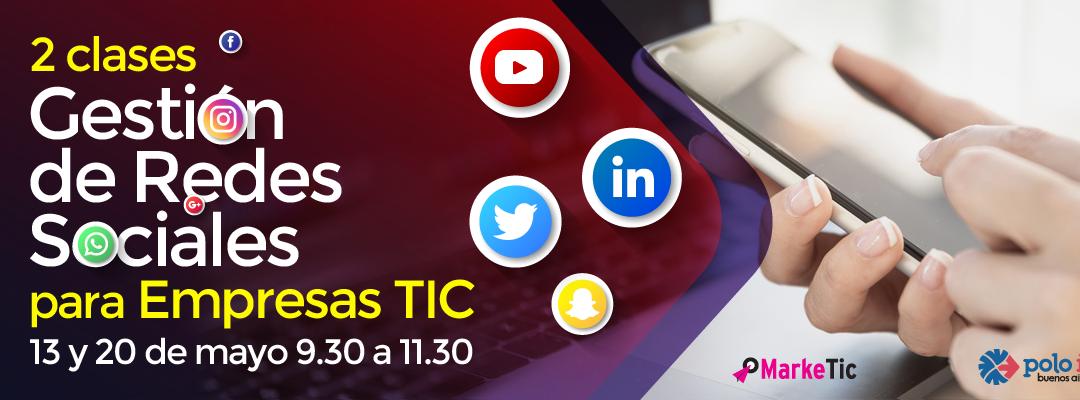 Gestión de Redes Sociales para TICs