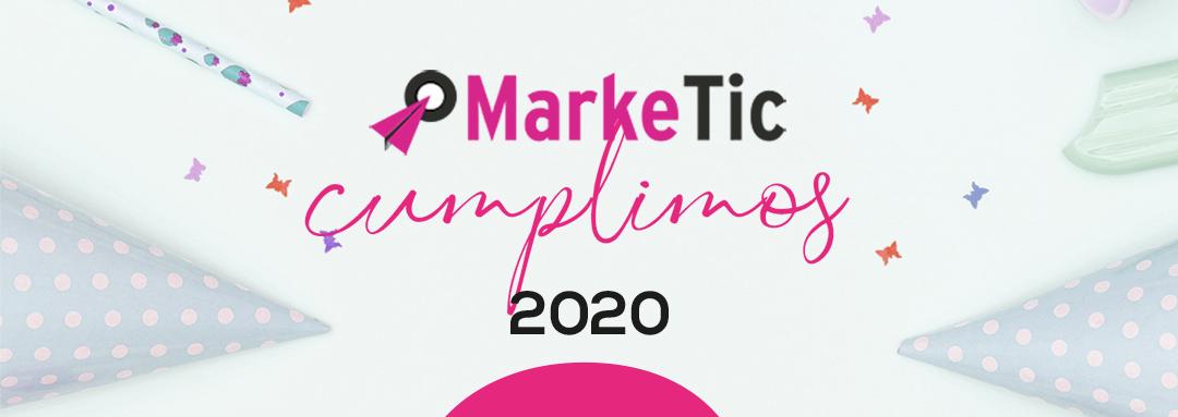 Marketic -Cumplimos 8 años