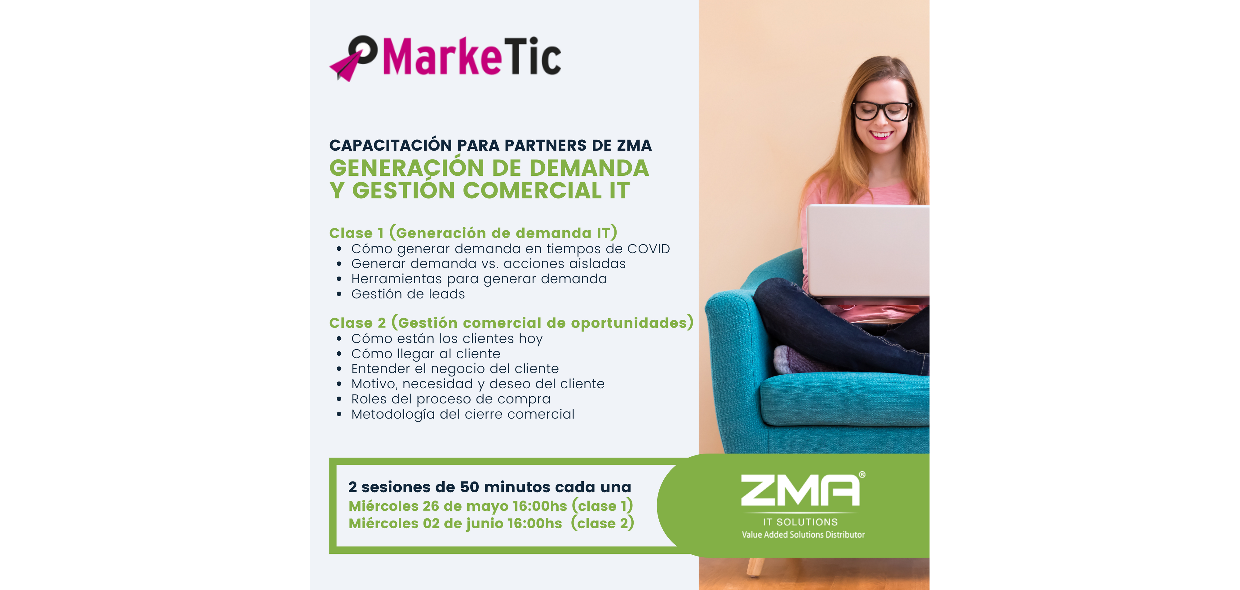 Marketic capacitacion ZMA